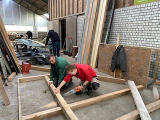 Dagbesteding Zorgboerderij Boerewille in Friesland