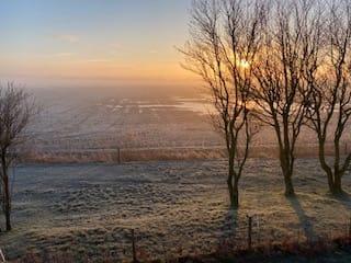 Uitzicht op Zorgboerderij Boerewille