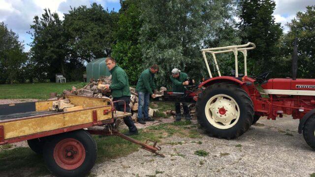 Dagbesteding met hout werken Boerewille